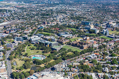 Camperdown Aerial Photography