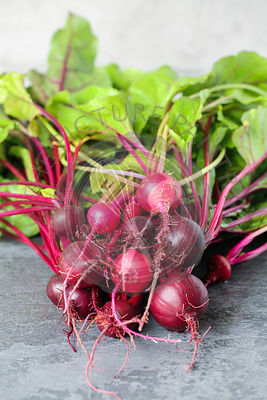 Bunch Of Beetroot Fresh from the Garden.