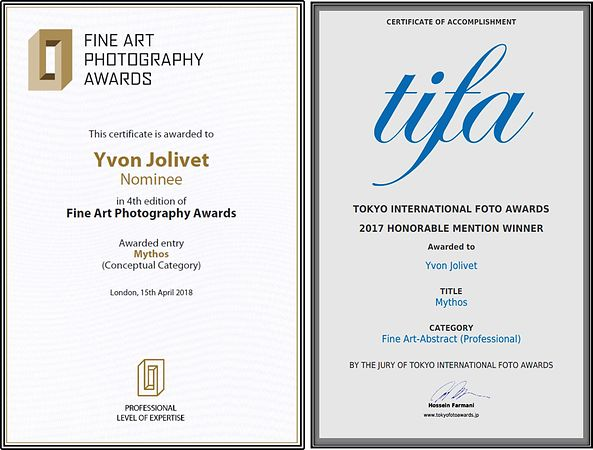 TIFA & FAPA - Nominee & Honorable mention