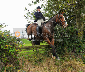 Julia Dungworth - The Cottesmore Hunt at Toft, 31-Oct-13.