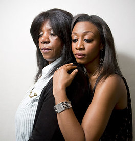 British singers Beverley Knight and Jackie Graham -  Independent on Sunday