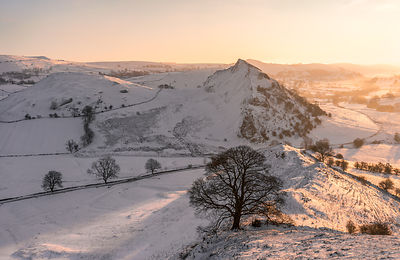 Parkhouse hill in winter