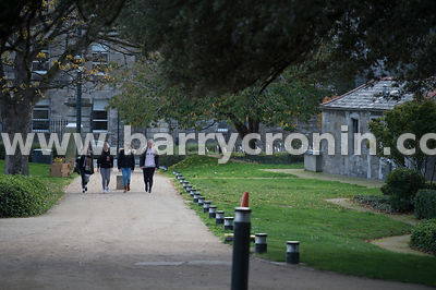 19th October, 2018.General views of the Dublin Institute of Technology, Grangegorman, Dublin Pictured are first year Social C...