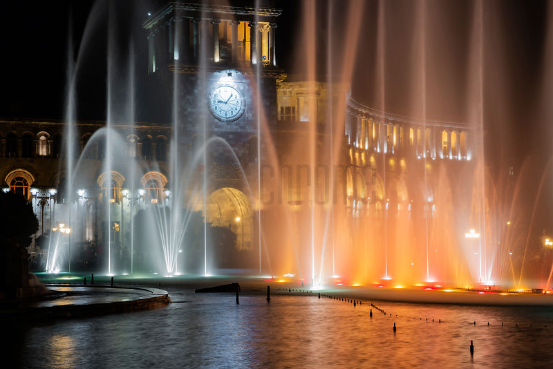 Musical Fountain at Republic Square
