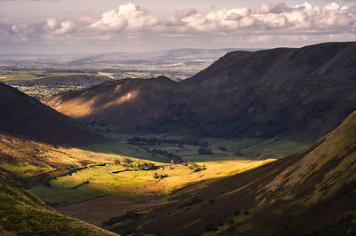 Early autumn light in Martindale, Lake District