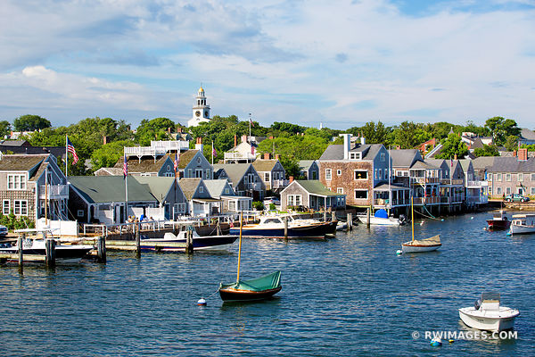 NANTUCKET ISLAND HARBOR MASSACHUSETTS