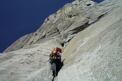 Photo d'alpinistes à Yosemite USA