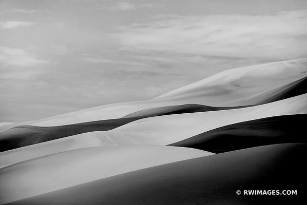 Great Sand Dunes National Park Colorado - Black and White Photos