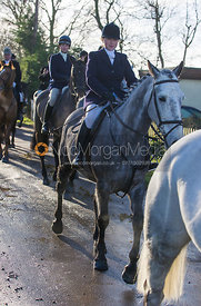 Lucinda Winnington - The Quorn Hunt at Swan Lodge 16/12