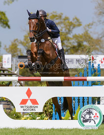 Merel Blom and RUMOUR HAS IT - Show Jumping phase, Mitsubishi Motors Badminton Horse Trials 2014