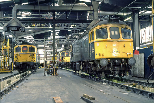 PHOTOS OF BRITISH RAIL 1969-1992