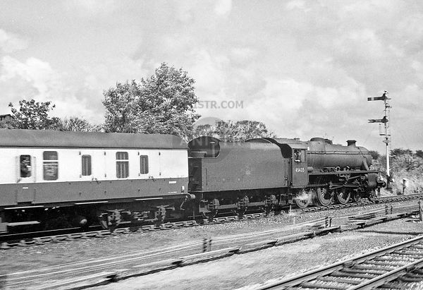 Steam loco Black 5 45435