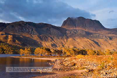 BP3086 - Slioch, from Loch Maree