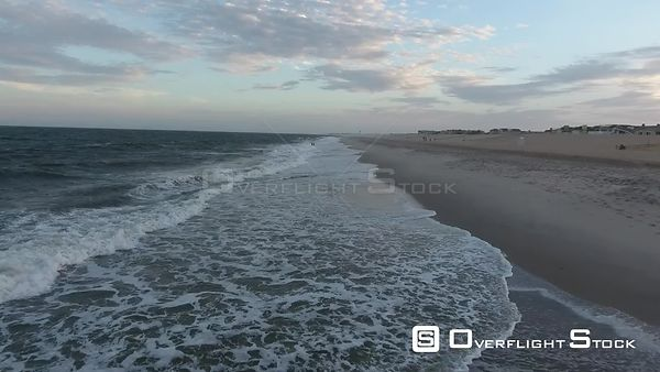 Sunset Drone Video at Beach Haven New Jersey