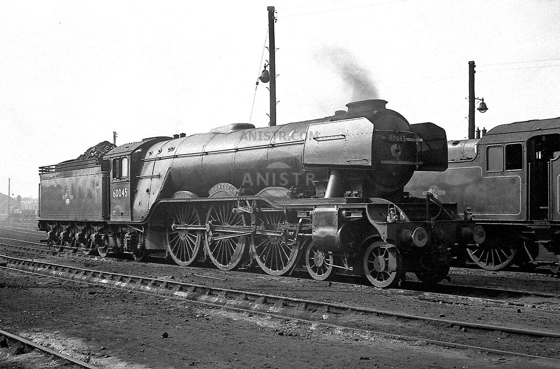 Steam loco A3 60045 Darlington
