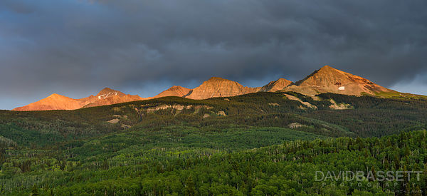 Stormy Sunset | San Juan Mountains, CO
