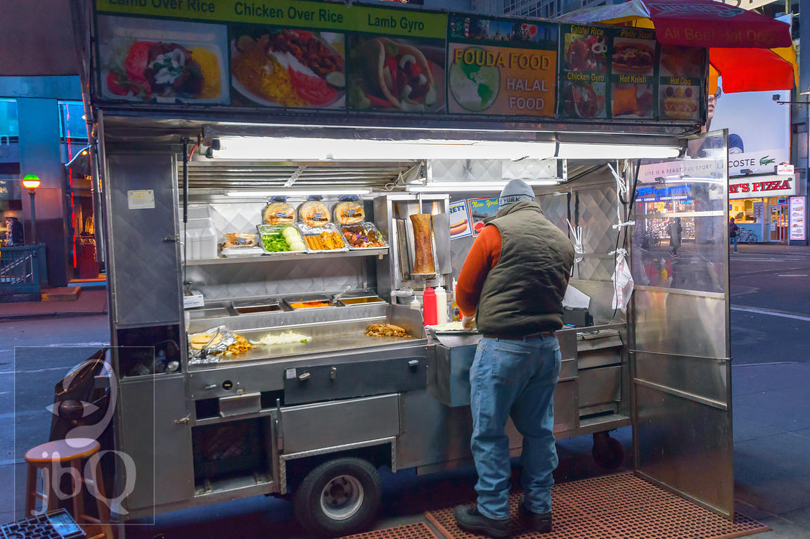 Halal Cart in Times Square