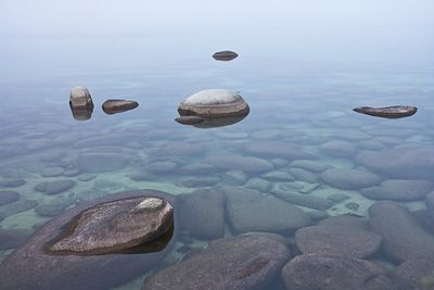 Rocks and Clear Water