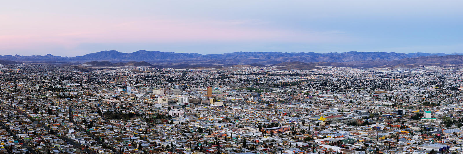 Skyline of Chihuahua from Cerro Coronel