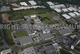 Warrington Birchwood high level views