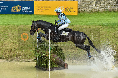 Alice Pearson and SAMBA, Equitrek Bramham Horse Trials 2018