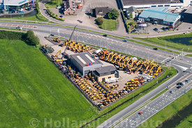 Velddriel - Luchtfoto BIG Machinery