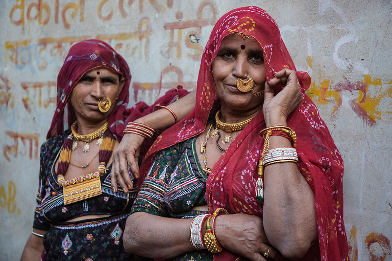 Portrait of Two Marwari Women