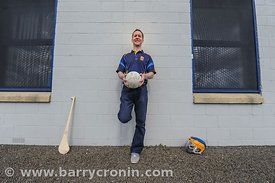 21st April, 2012. Castleknock GFC football nursery, Carpenterstown, Dublin. Pictured is Niall Tutty (Chairman).  Photo:Barry ...