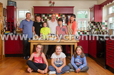 26th August, 2014.Paul Farrelly of Drummully Boxty at this kitchen outside Killeshandra, County, County Cavan.Photo:Barry Cro...