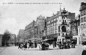 Le Moulin Rouge Paris 18th