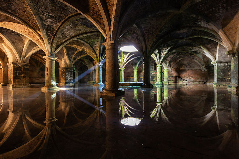 Interior of the Portuguese Cistern