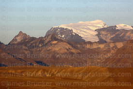 Mt Mururata shortly before sunset, Cordillera Real, Bolivia