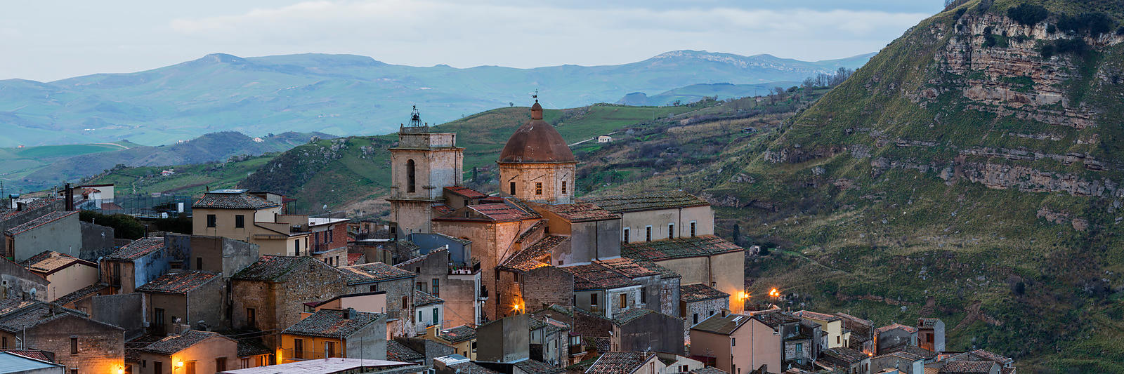 The Town and the Cathedral, or Matrice at Petralia Sottana