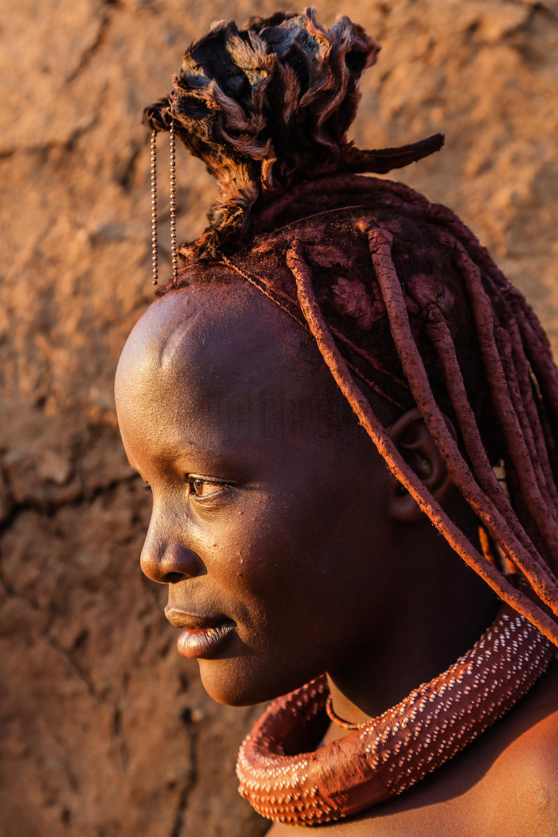 Portrait of a Himba Girl