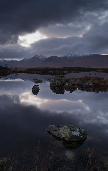 Last of the light, Rannoch Moor