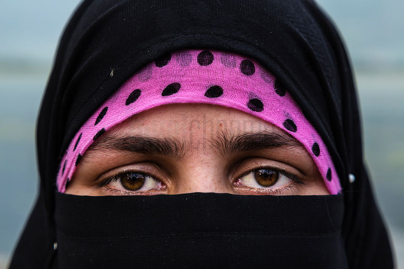 Portrait of a Moslem Woman