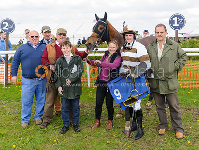 POYNTZPASS (Evan David) - Race 4 Restricted - South Notts Point-to-Point 2017