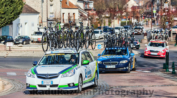 Paris Nice 2013 Cycling: Stage 1 in Nemours, France