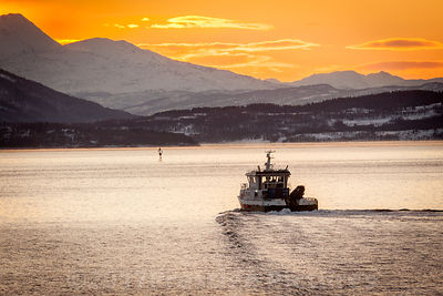 Fishing Vessel close to Gibostad, Norway