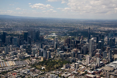 Aerial view of Melbourne No.5