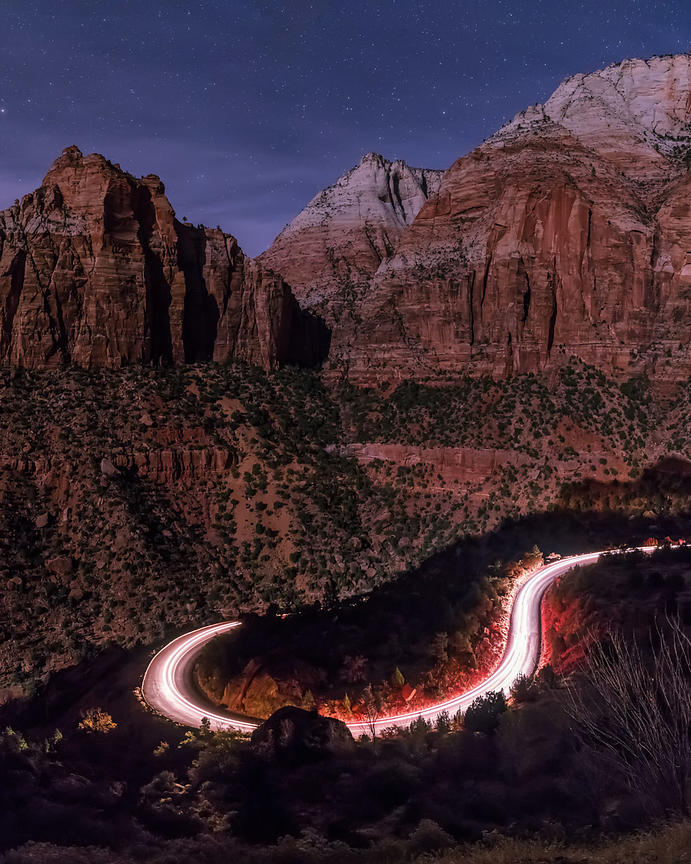 The Switchbacks of Zion