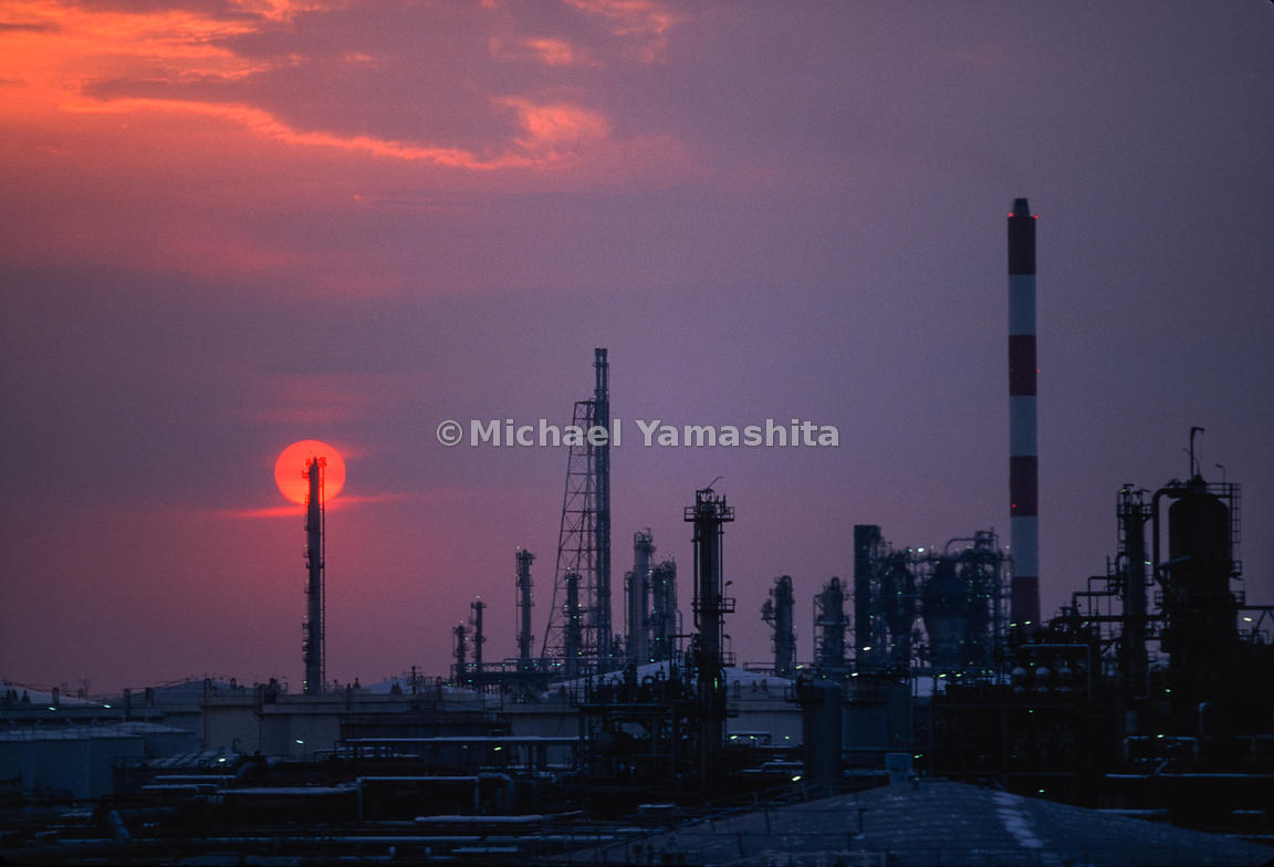 MichaelYamashita | Shell Oil Refinery   Shell's biggest