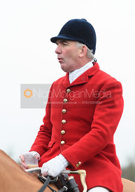 Andrew Osborne At the meet. The Cottesmore and The Pytchley at Downton House