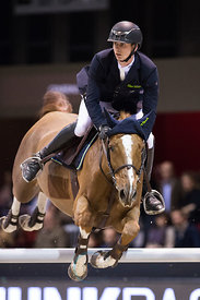 Bordeaux, France, 2.2.2018, Sport, Reitsport, Jumping International de Bordeaux - . Bild zeigt Felix HASSMANN (GER) riding Ba...