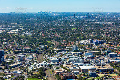 Blacktown to Sydney Skyline