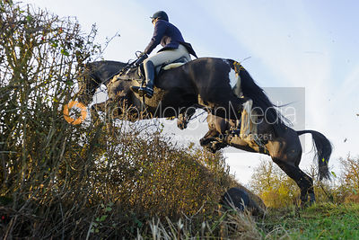 jumping a hedge on line 3