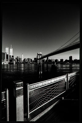 Tall Masts of Manhattan: From Brooklyn 1999