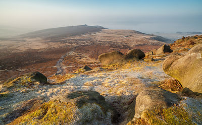 Higger Tor view to Owler Tor and Mother Cap