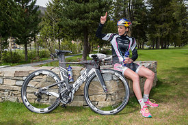 Triathlon Athletin Daniela Ryf (SUI)