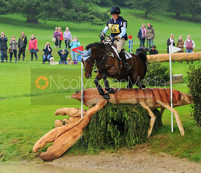 Jodie Amos and WISE  CRACK - Equitrek Bramham International Horse Trials 2014